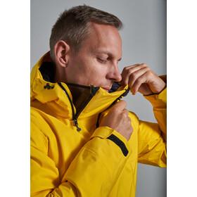 Y by Nordisk Ness Hardshell Down Anorak Men, lemo/blck